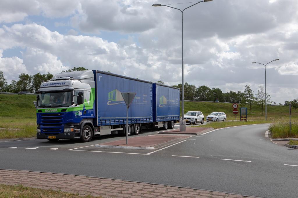 Dubbele vrachtwagen LCW